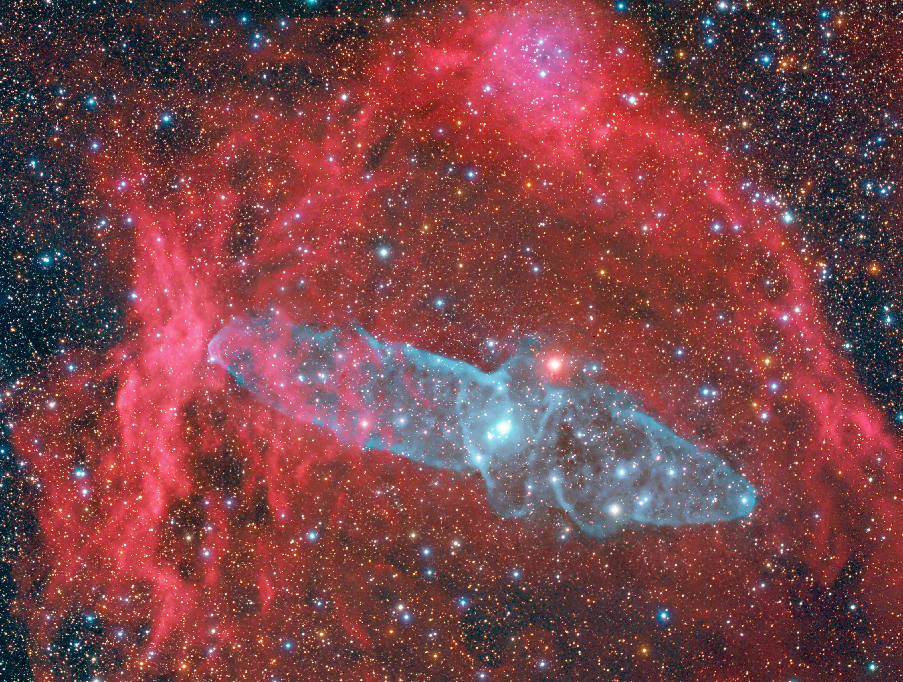 SH2-129 Squid Nebula OU4