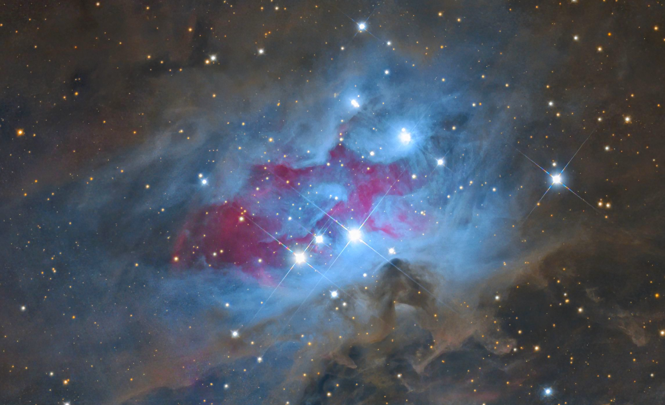Sh2-279 The Running Man Nebula